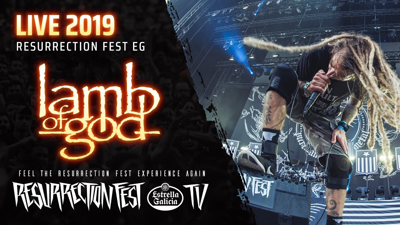 Lamb of God - «Resurrection Fest» (концерт)