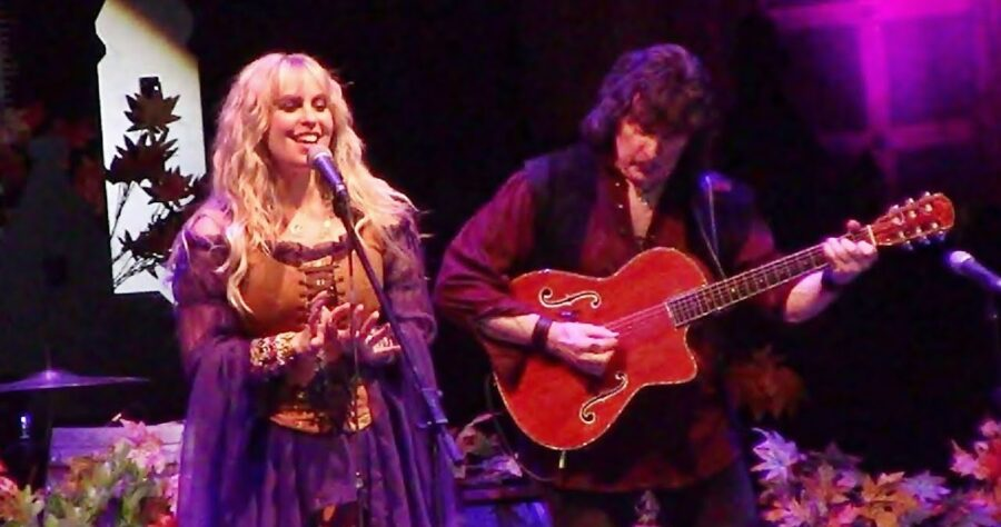 Ritchie Blackmore и Candice Night — «Diamonds & Rust» изображение