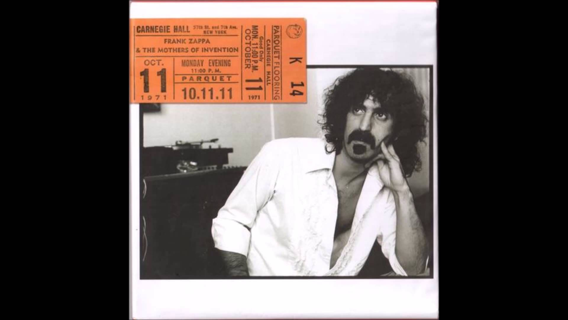 Frank Zappa and The Mothers – «Carnegie Hall» (3 cd)