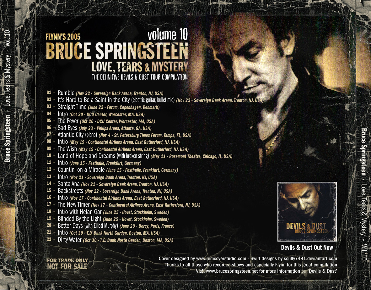 Bruce Springsteen - «Devils and Dust» №1 в британском чарте