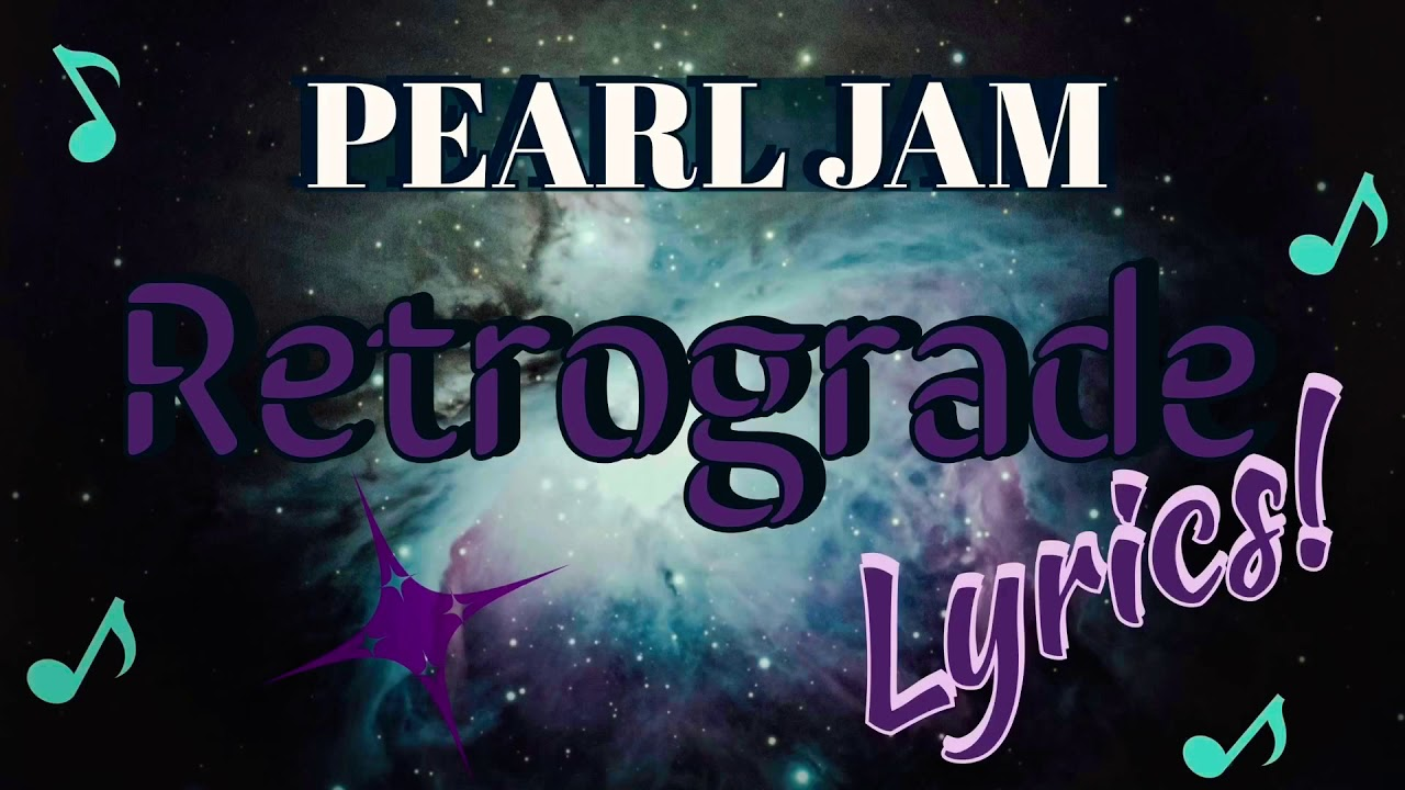 Pearl Jam - «Retrograde» (новый клип, 2020)