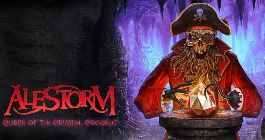 Alestorm – «Curse of the Crystal Coconut» (новый альбом, 2020) изображение