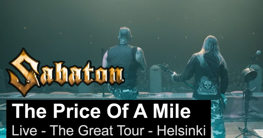 Sabaton – «The Price Of A Mile» (Live, The Great Tour, Helsinki) изображение