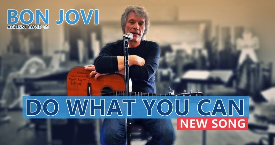 Jon Bon Jovi — «Do What You Can» (новая песня и клип, 2020) изображение