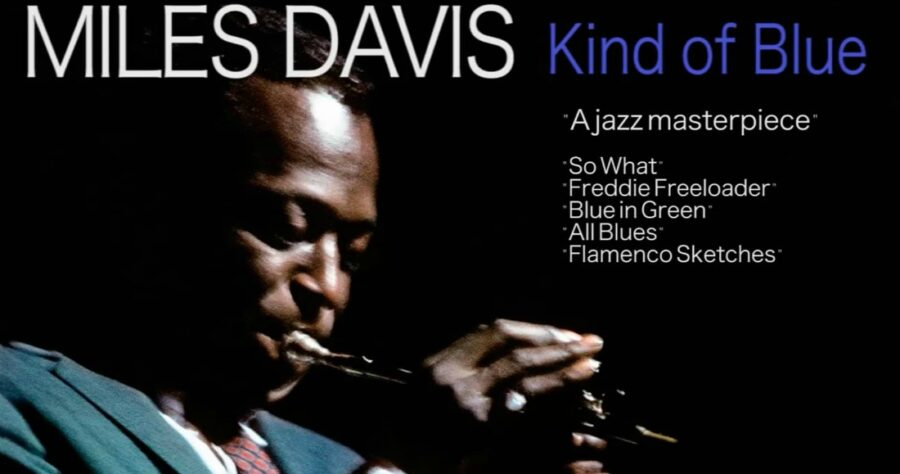 Miles Davis — «Kind Of Blue» (легендарный альбом, 1959) изображение