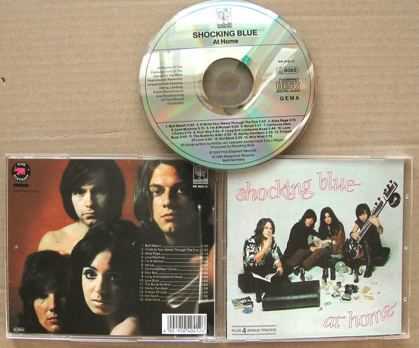 Shocking Blue - «At Home» (легендарный альбом, 1969)