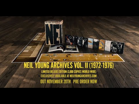 Neil Young - «Archives Vol. II: 1972–1976» (новый альбом)
