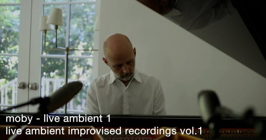 Moby — «Live Ambients – Improvised Recordings Vol. 1» изображение