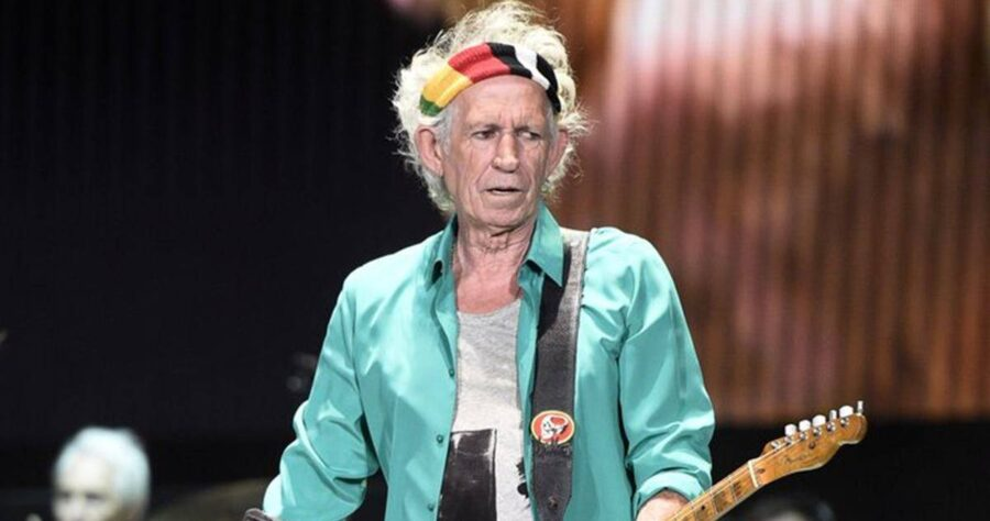 Keith Richards рассказал о гитарных привычках и карантине изображение