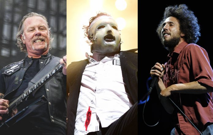 Metallica, Slipknot и «Long Live Rock… Celebrate the Chaos» изображение