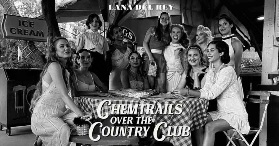 Lana Del Rey — «Chemtrails Over The Country Club» изображение