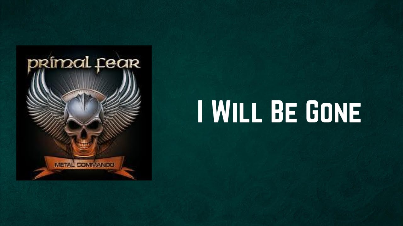 Primal Fear - «I Will Be Gone» (новый EP, 2021)