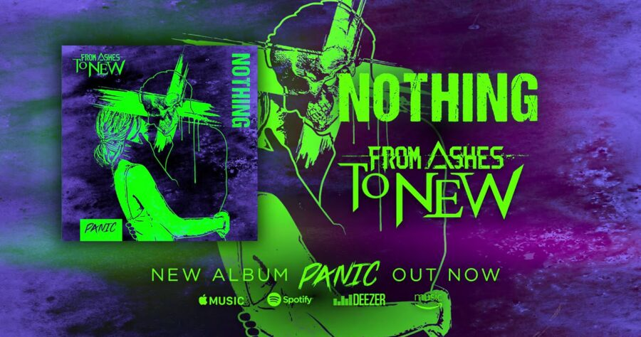 From Ashes to New — «Nothing» (новое видео) изображение