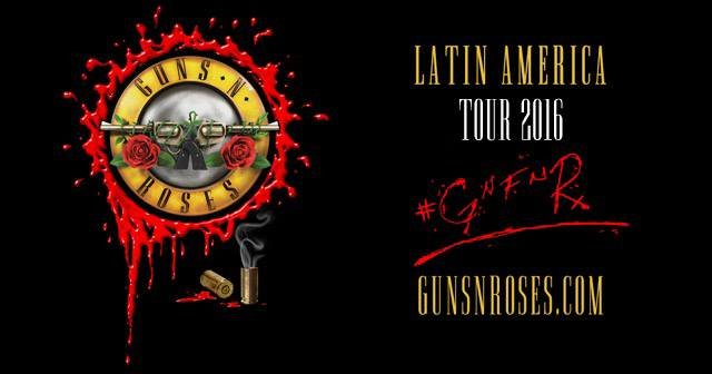 Guns N 'Roses – «Not In This Lifetime Selects: Latin America»