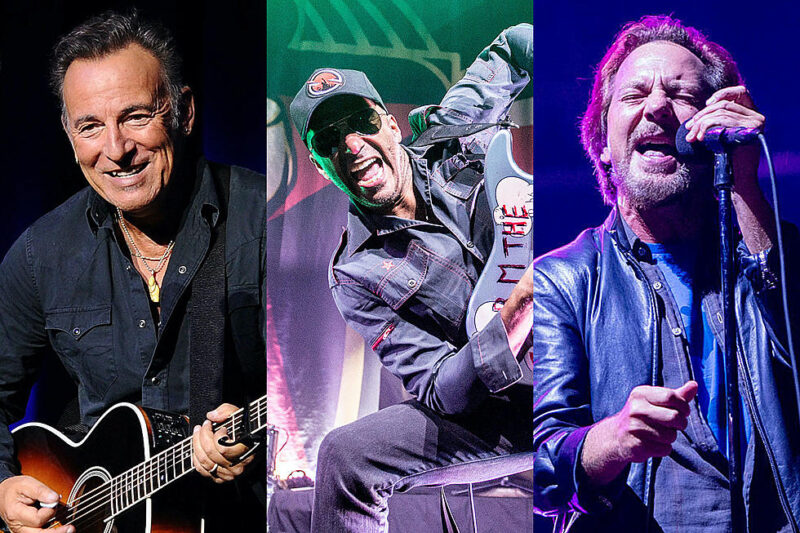 Tom Morello и Bruce Springsteen - «Highway to Hell»