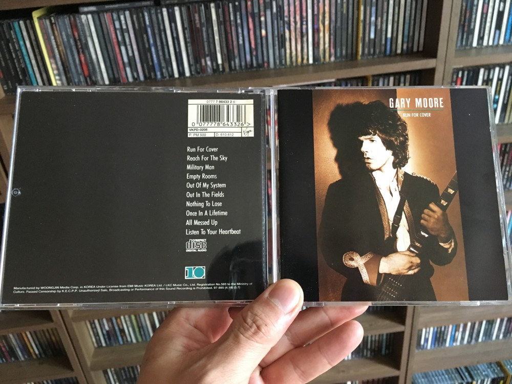 Gary Moore - «Run for cover» (альбом года)